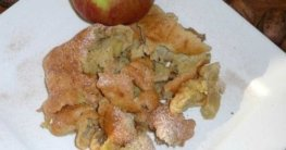 Apfel-Zimt-Schmarren
