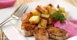 Rosmarinkartoffeln mit Rote-Beete-Soße