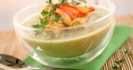 Orientalische Zucchinisuppe mit Tahin Rezept