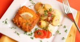 Fisch mit Parmesan-Kruste Rezept