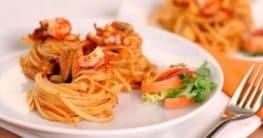 Pasta mit Meeresfrüchten Rezept