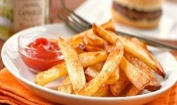 Ofen Pommes frites selbstgemacht Rezept