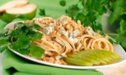Spaghetti mit Gorgonzola-Sauce Rezept