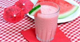 Melonen-Joghurt-Shake