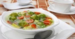 Rosenkohl-Tomaten-Terrine