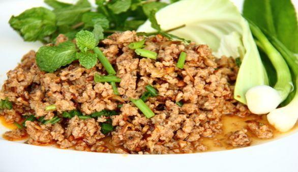 Hackfleisch-Salat