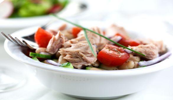 Low Carb Italienischer Thunfischsalat