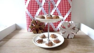 Weihnachts-Cookies à la low carb mit Chia