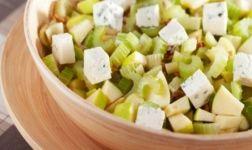 Apfel-Lauch-Salat Rezept