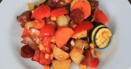 Chorizo Gemüsepfanne
