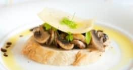 Crostini di funghi