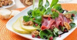 Feldsalat mit Speck