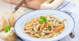 Flädle Suppe