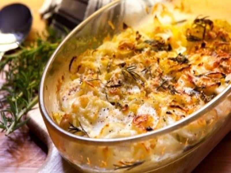 Gemüse-Kartoffel Auflauf