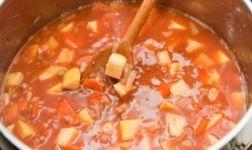 Reitersuppe (Käse/Lauch Suppe) Rezept
