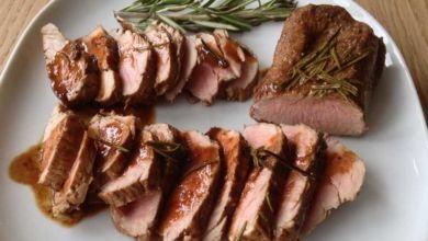 Rosmarin-Balsamico-Schweinefilet