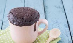 Schneller Tassenkuchen mit Nutella