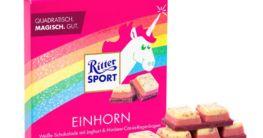 Einhorn-Schokolade von Ritter-Spor