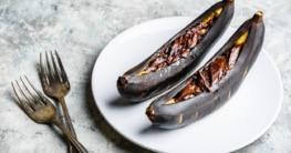 Schoko-Banane vom Grill