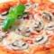 Pizza al funghi Rezept